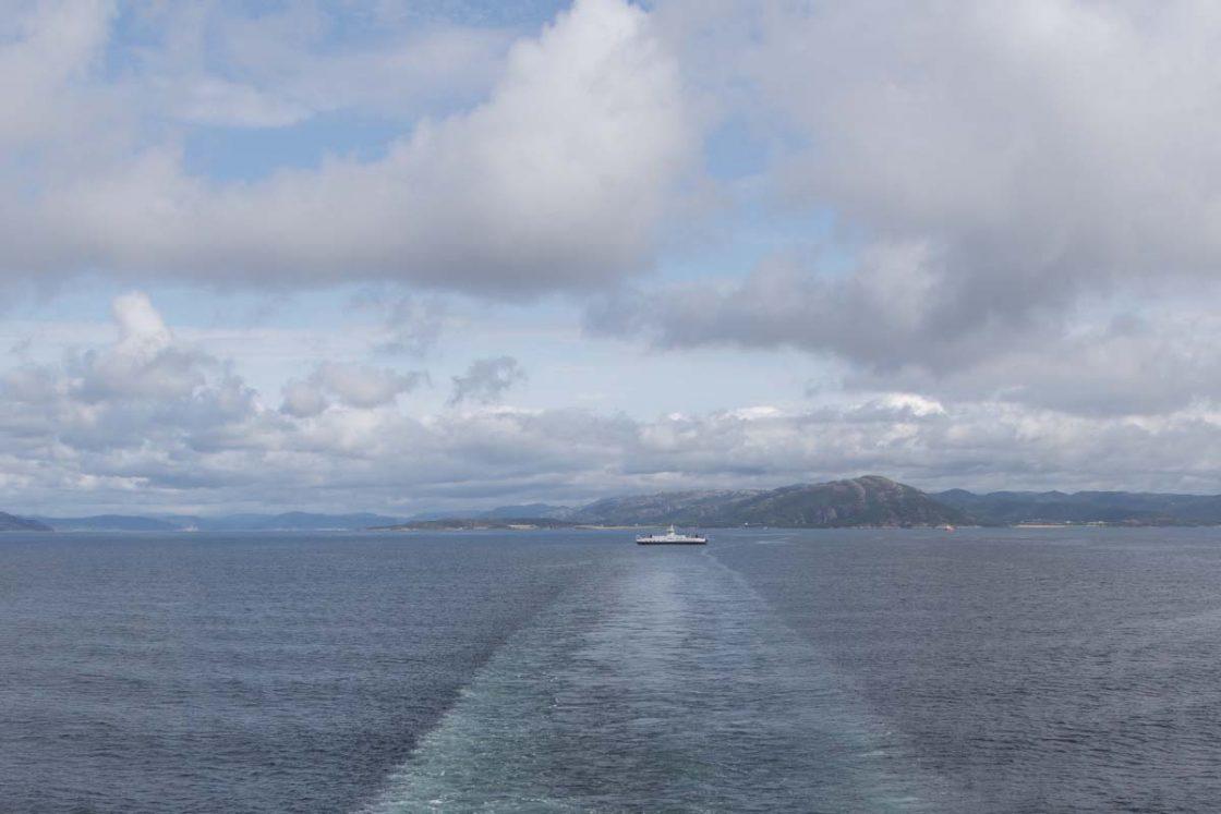 Valgt kryssingsområde over Trondheimsfjorden er mellom Flakk og Rørvik