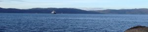 Ferge over Trondheimsfjorden