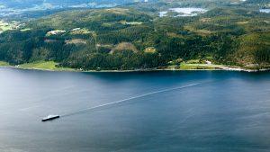 Ferry at Rørvik